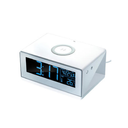 Wireless Charger mit Wecker REEVES-CESSNOCK